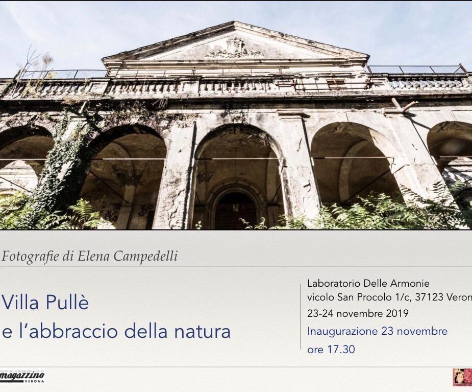 Villa Pullè e l'abbraccio della natura