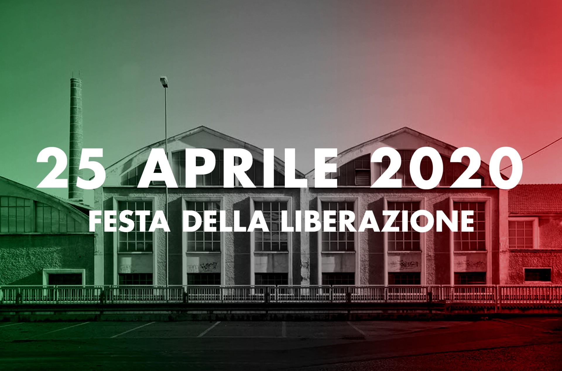 25 aprile 2020 festa della Liberazione